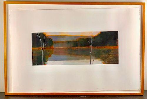 Stephen Pentak (American, 20thc,) 1997-12-4, 1997, oil