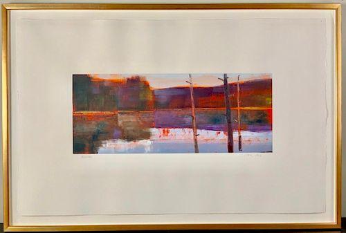 Stephen Pentak (American, 20thc,) 1999-10-2, 1999, oil