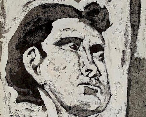 Federico Castellon(Spanish 1914-1971) Head of a