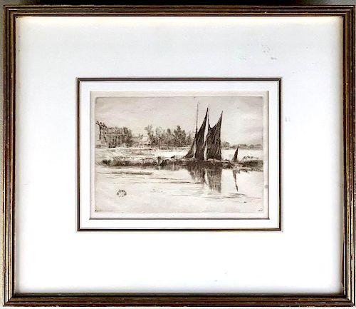 James Abbott McNeil Whistler (American 1834-1903)