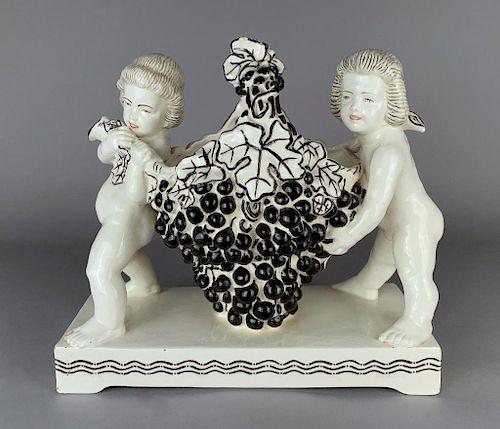 A Michael Powolny Style Ceramic Centerpiece