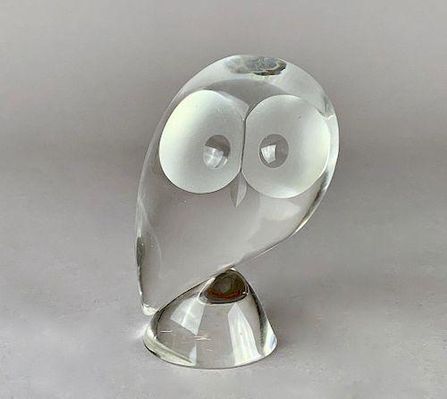 Steuben Crystal Owl