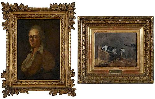 Two Small European Paintings