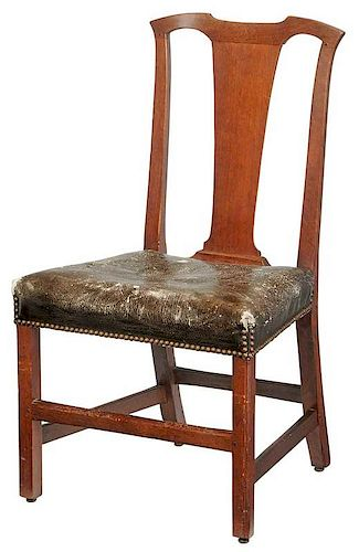 Chippendale Walnut Side Chair