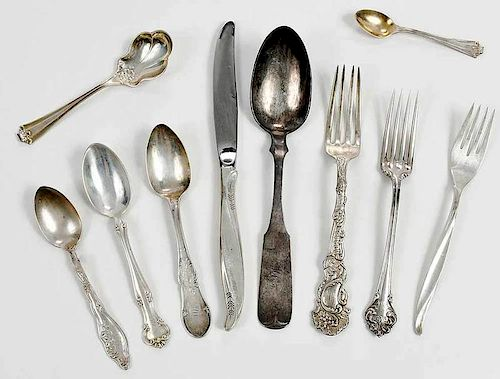 65 Pieces Sterling Flatware