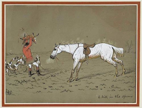 Attributed to Cecil Aldin