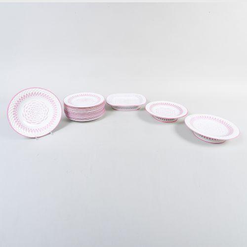 Minton Porcelain Part Dessert Service