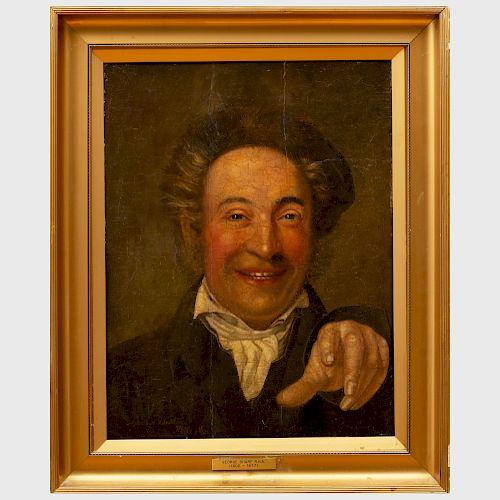 Attributed to George Sharp (1802-1877): Goodbye Dublin, Hello New York