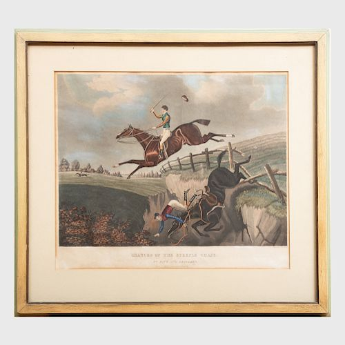 Geoffrey Hunt: Chances of the Steeple Chase
