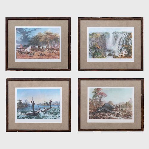 After Thomas Baines: Group of Four Reproductions