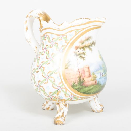French Porcelain Milk Jug