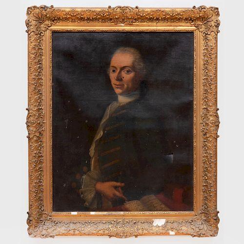 European School: Portrait of a Man in Uniform