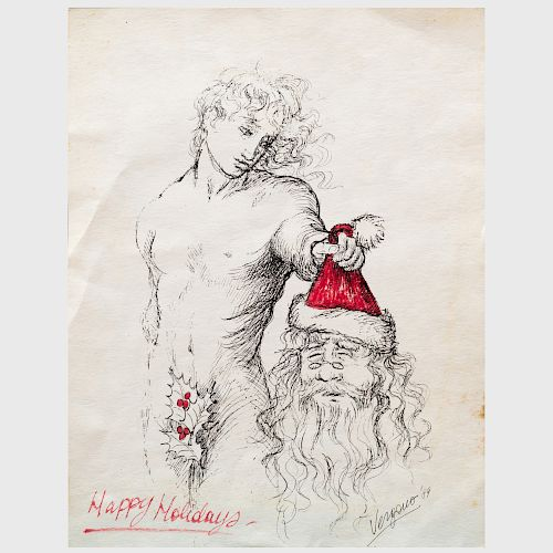 Cristina Vergano (b. 1960): 'Happy Holidays'