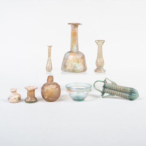 Group of Roman Glass