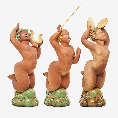 WAYLANDE GREGORY Three large musical sculptures