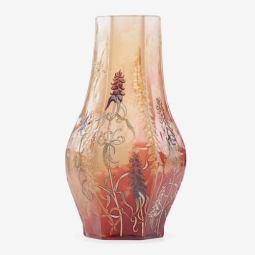 GALLE Fine large vase