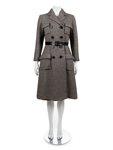 Norman Norell Coat and Skirt, 1970s