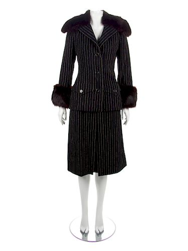 Galanos Jacket and Skirt, 1970s