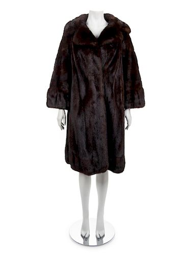 Bruno and Joseph Mink Coat, 1990-2000s