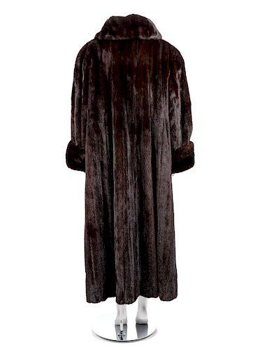 A Mink Full Length Coat