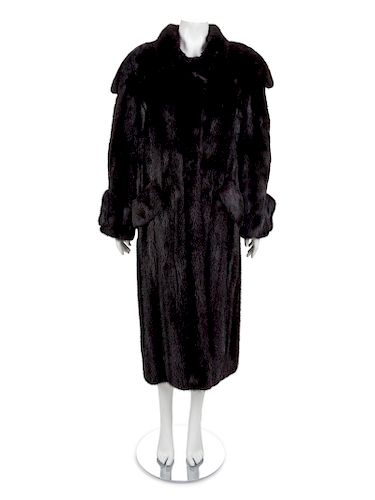 Long Mink Coat, 1990-2000s