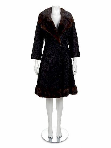 Schiaparelli Fur Coat, 1950-60s