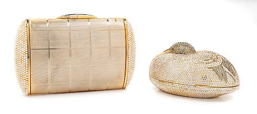 Two Judith Lieber Jewel Clutches