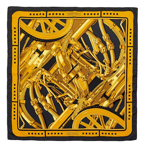 "Hermes 90cm Silk Scarf 36"" x 36"" 36"" x 36"""