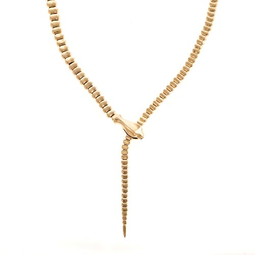 A Tiffany & Co. Peretti Snake Necklace in 18K
