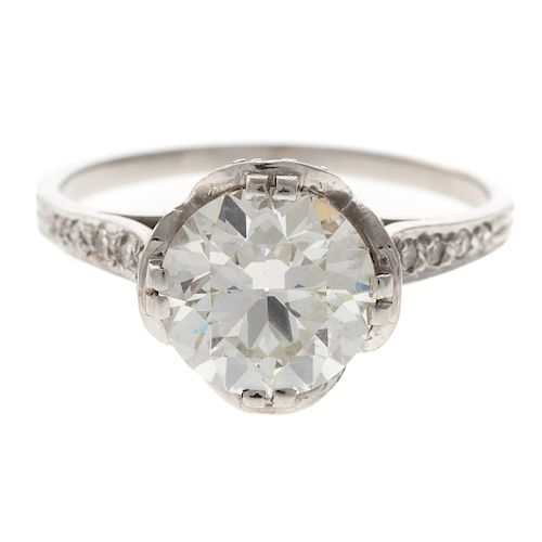 A Ladies 2.25 ct. Diamond Engagement Ring