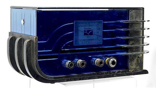 Walter Teague for Sparton Sled Model 557 Radio