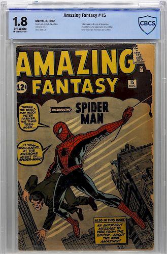 Marvel Comics Amazing Fantasy #15 CBCS 1.8