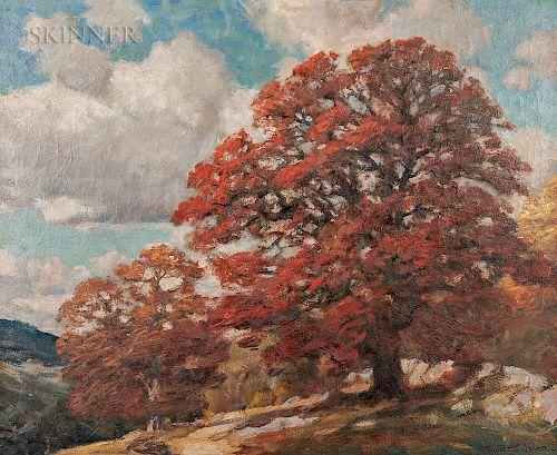 Robert Emmett Owen (American, 1878-1957)  Autumn Oaks