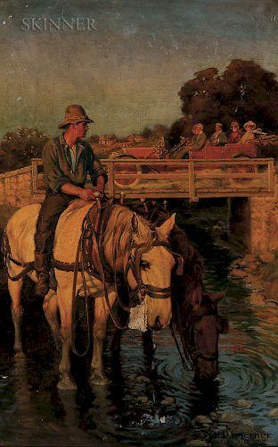 William Henry Dethlef Koerner (American, 1878-1938)  Horse Power