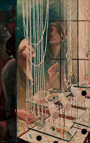 John Rutherford Boyd (American, 1884-1951)  Broadway Jewelry