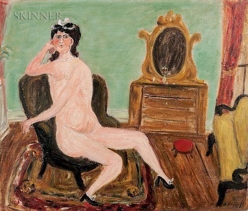 Nicholas Vasilieff (American/Russian, 1892-1970)  Nude