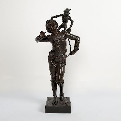 DUCHESS ADELE D'AFFRY MARCELLO LARGE BRONZE