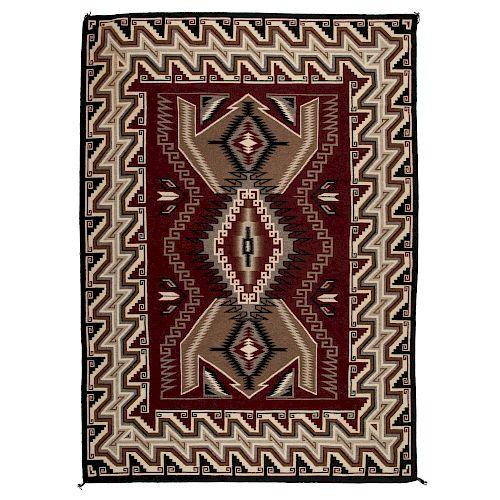 Navajo Ganado Weaving / Rug, From the Robert B. Riley Collection, Illinois