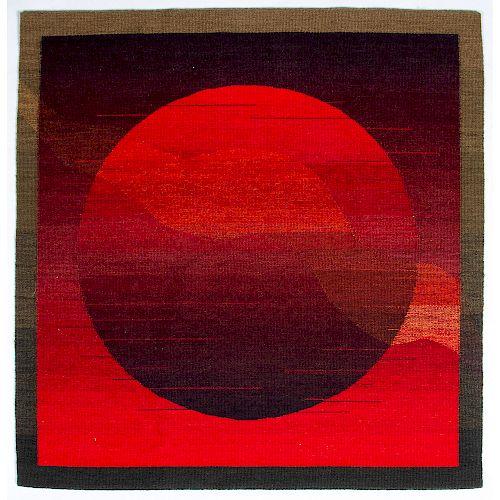 Karen Benjamin (American, 20th century) Pictorial Weaving, From the Robert B. Riley Collection, Illinois