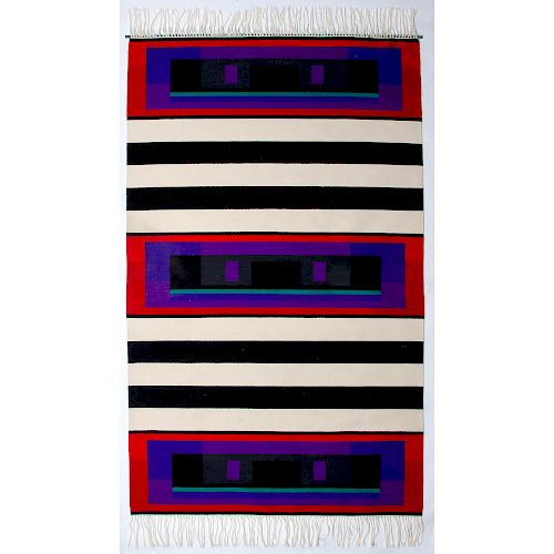 James Koehler (American, 1952–2011) Southwestern Style Weaving / Rug, From the Robert B. Riley Collection, Illinois