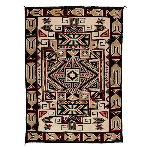 Navajo Teec Nos Pos Weaving / Rug, From the Robert B. Riley Collection, Illinois