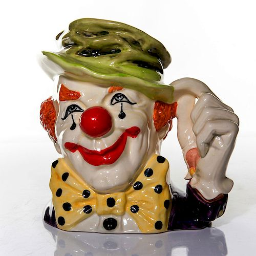 LARGE ROYAL DOULTON CHARACETR JUG, THE CLOWN D6834