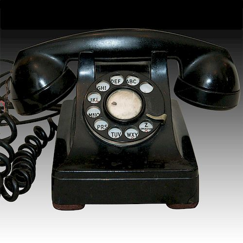 WESTERN ELECTRIC BELL 302 LUCY TELEPHONE, CA. 1948