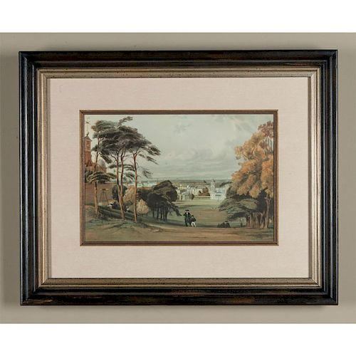 VINTAGE GICLEE GREENWICH PARK OBSERVATORY