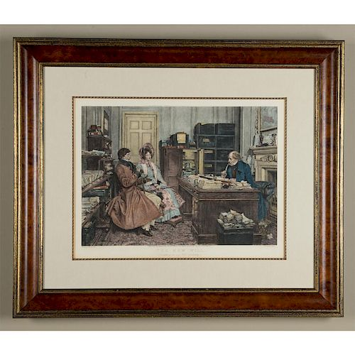 WALTER DENDY SADLER (BRITISH, 1854-1923) ETCHING BY JAMES DOBIE