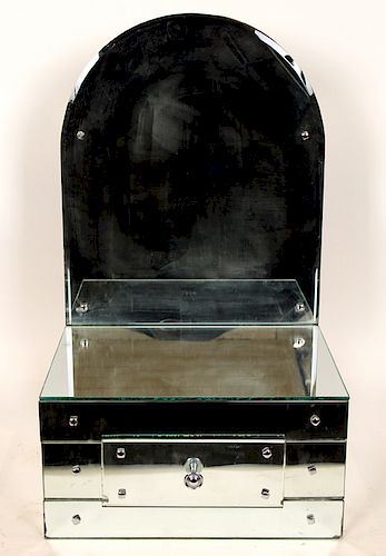ART DECO TABLE TOP DRESSING MIRROR C.1940