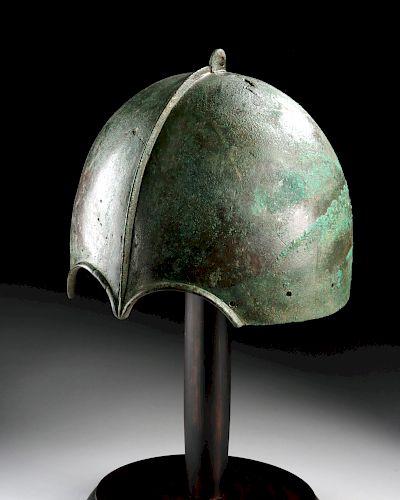 Published / Exhibited Scythian Bronze Helmet - Kuban