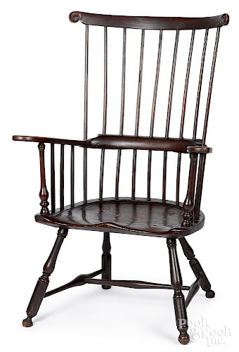 Pennsylvania fanback Windsor armchair