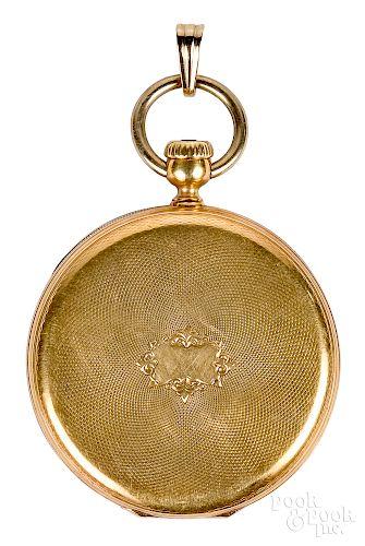 Patek Philippe & Co. 18K gold pocket watch