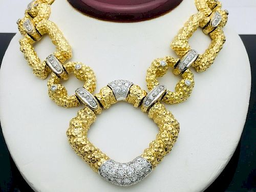 Estate 18k Yellow Gold VS Clarity Over 10.00 TCW